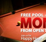Free Pool tables & Darts