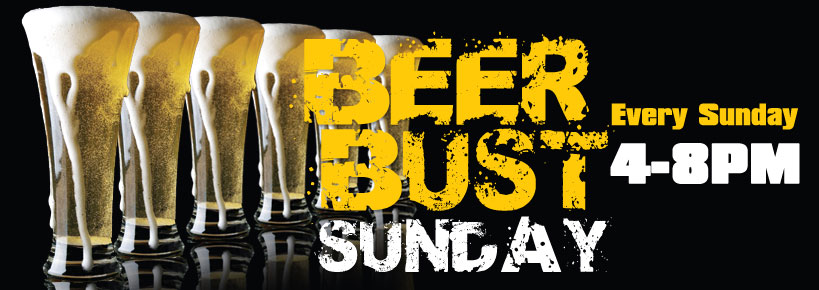 Beer Bust Sunday