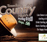 Tuesdays Country night