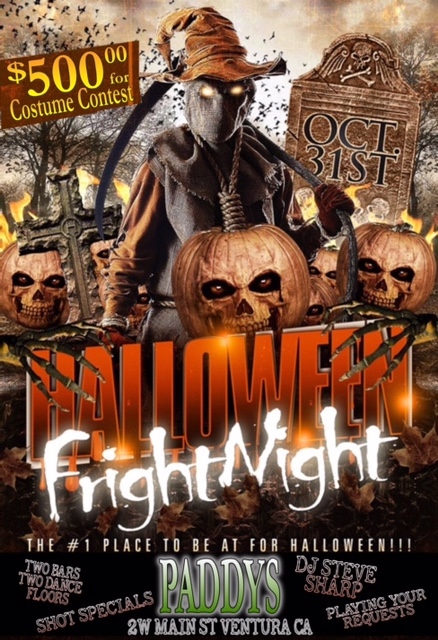 Scary H Night $500 Prizes